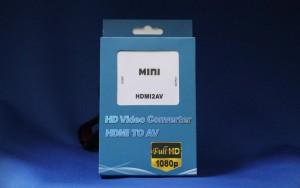 勢い余ってHDMI→コンポジット変換「AZ-HC580」も買っちゃいました!